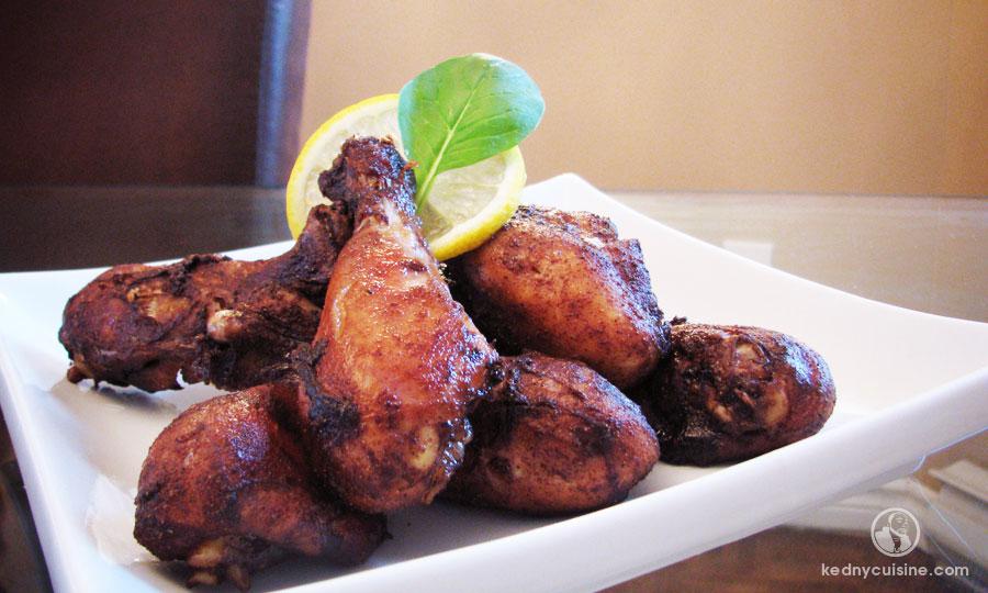 Pilons de poulet aux cinq épices et poivre de cayenne