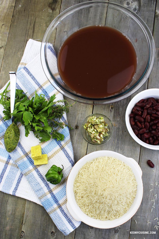 Riz collé haïtien - Kedny Cuisine 1