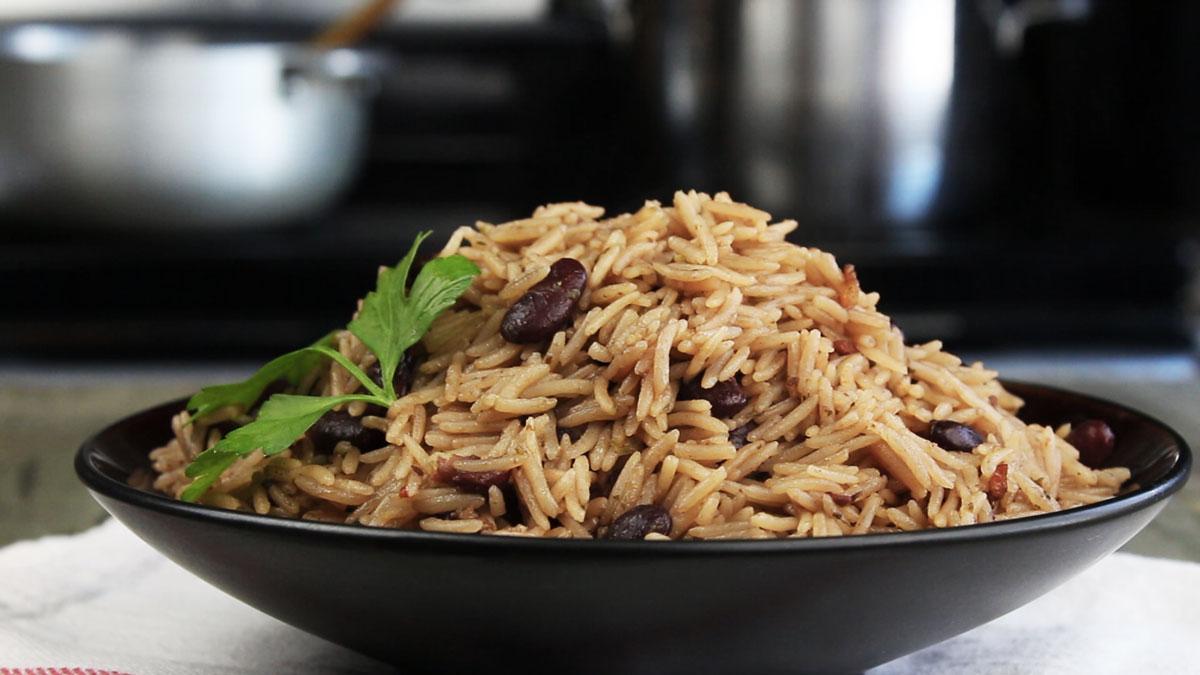 Riz collé haïtien - Kedny Cuisine 2