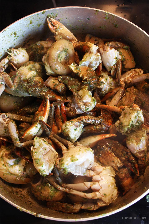 Lalo de pattes de porc et crabe - KC 9