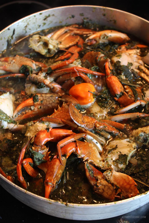 Lalo De Pattes De Porc Et Crabe Kedny Cuisine
