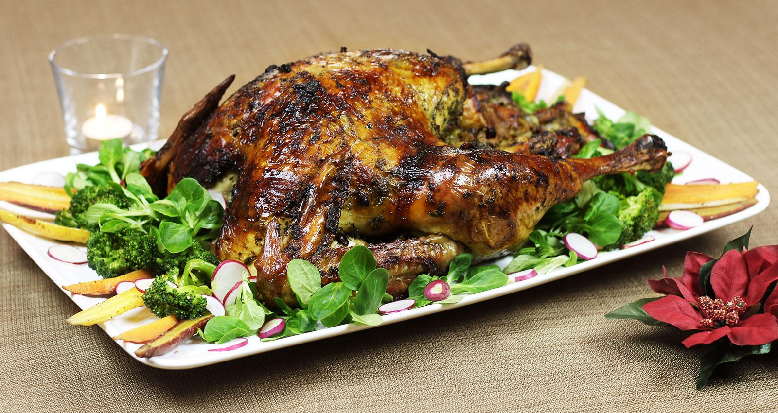 Dinde Assaisonnee A L Haitienne Kedny Cuisine