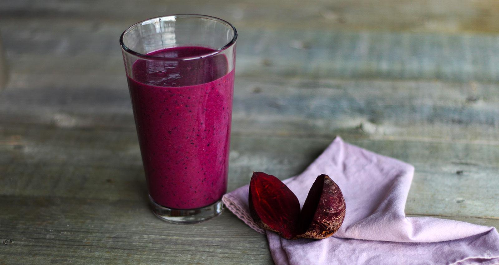 """Le shake """"purple juice"""""""