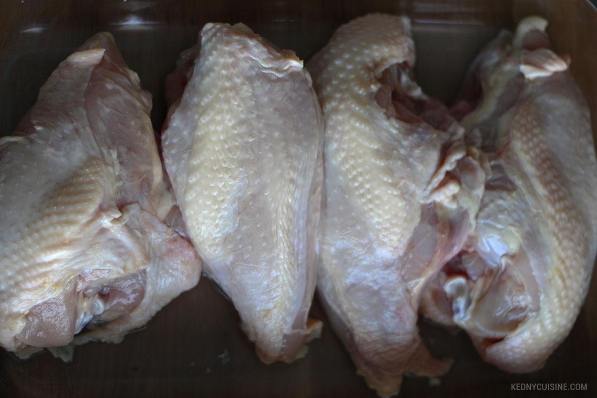 Poitrine de poulet rôtie et salade de couscous ensoleillée 1