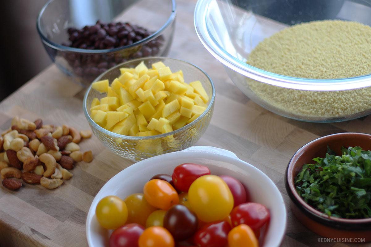 Poitrine de poulet rôtie et salade de couscous ensoleillée 6