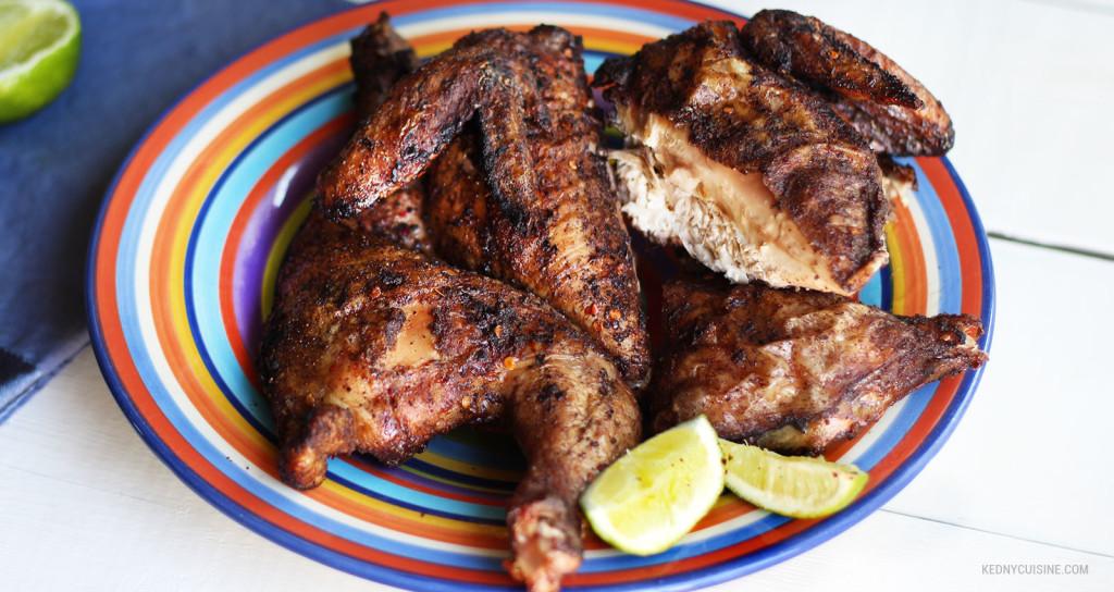 Poulet grillé aux saveurs des îles