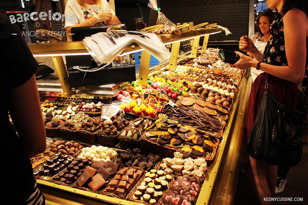 Barcelone 2015 - La Boqueria - Chocolat