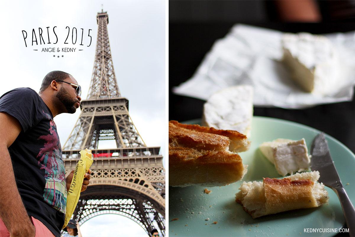 Paris 2015 - Baguette et tour Eiffel