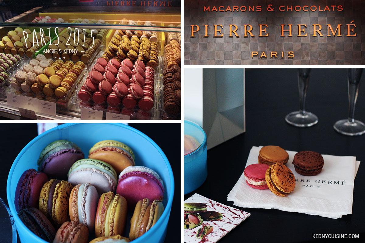 Paris 2015 - Pierre Hermé macarons