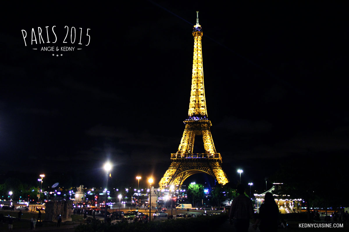 Paris 2015 - Tour Eiffel soir