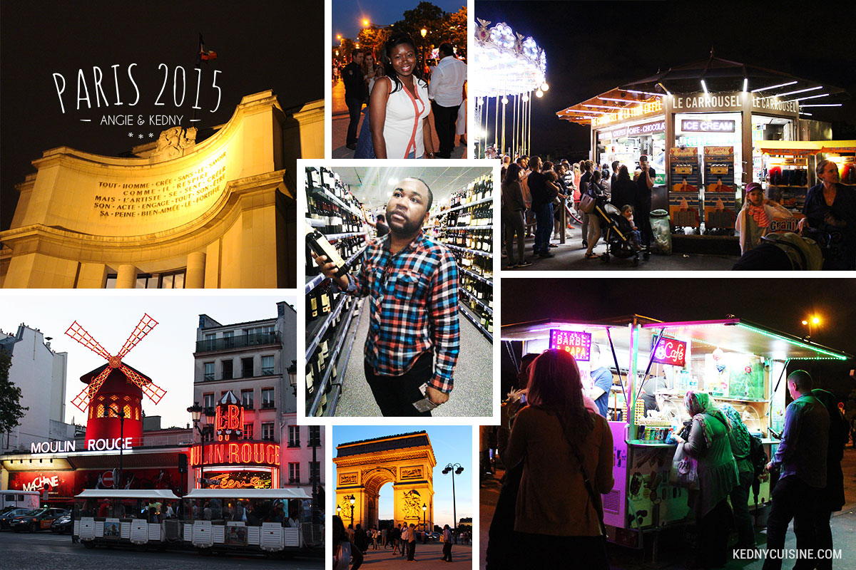 Paris 2015 - Tour Eiffel soir 2