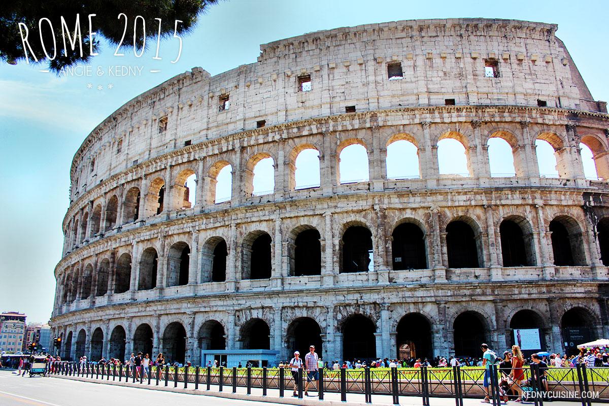 Rome 2015 - Le Colisée