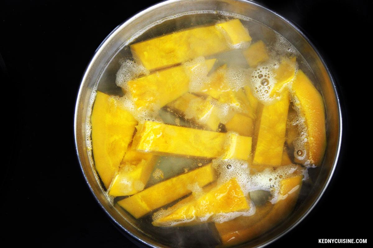 Bouchées feulletées à la courges et au fromage - KC 2