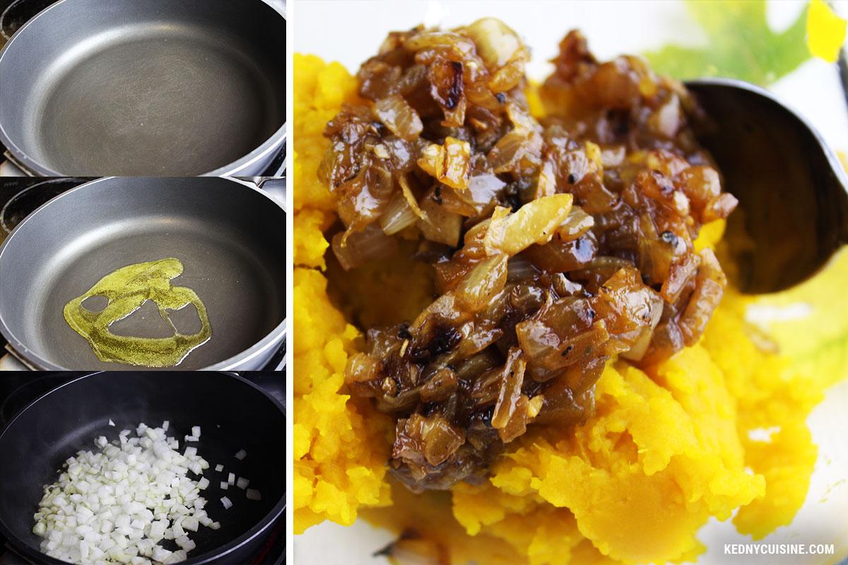 Bouchées feulletées à la courges et au fromage - KC 3