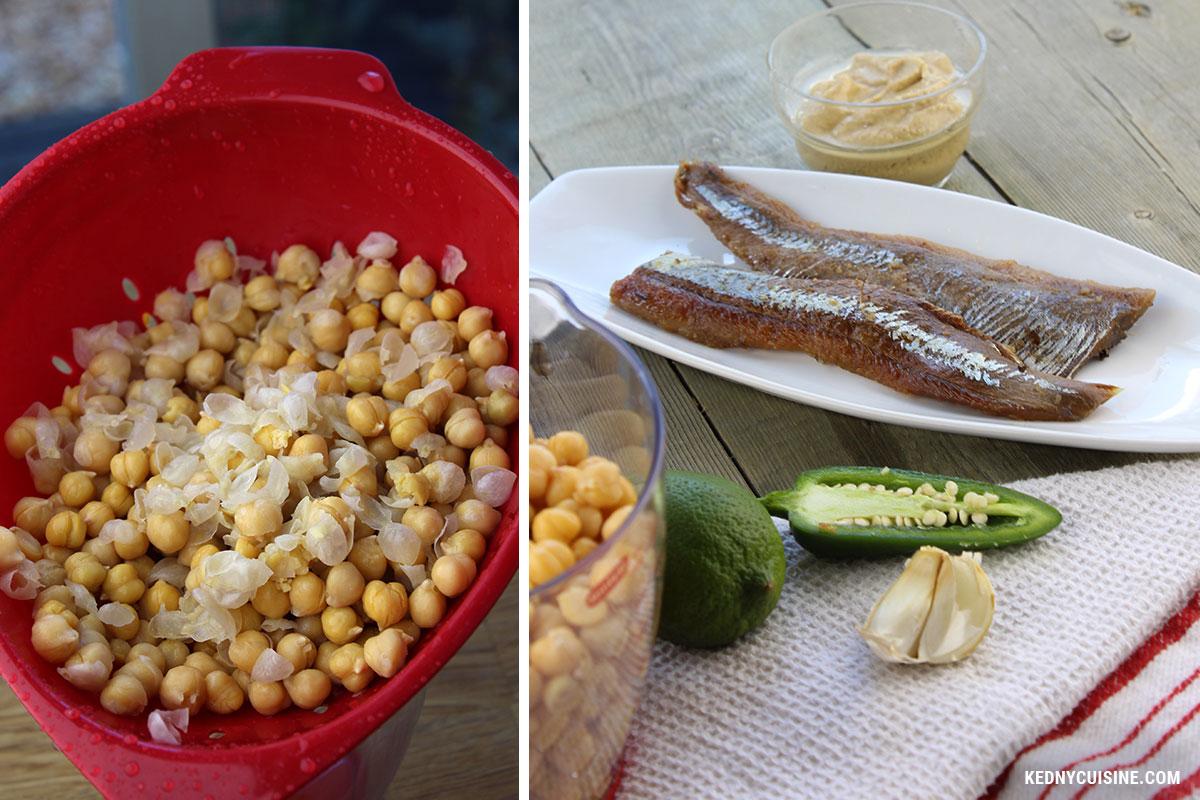 Hummus au hareng fumé - Kedny Cuisine 2