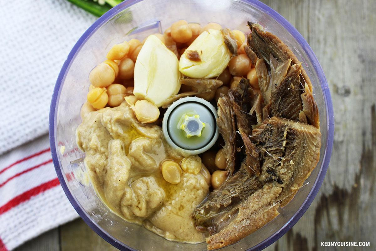 Hummus au hareng fumé - Kedny Cuisine 3