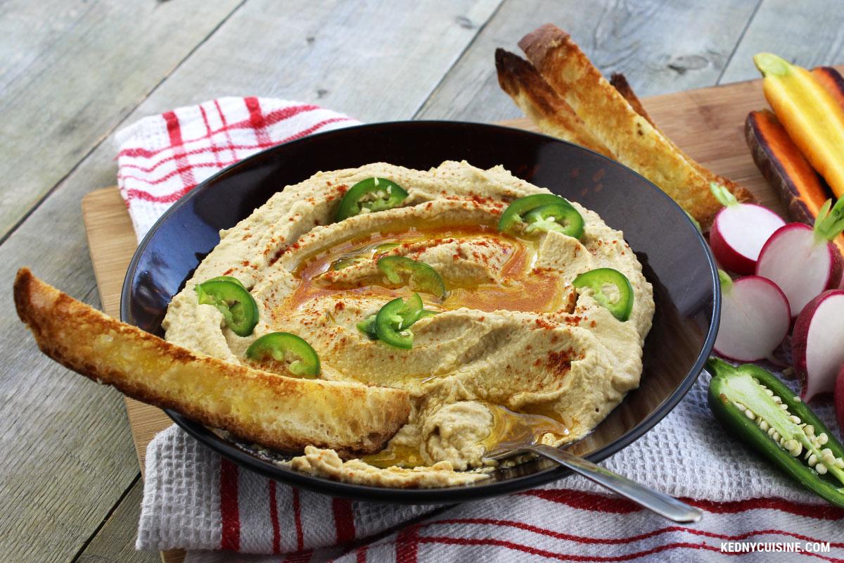 Hummus au hareng fumé - Kedny Cuisine 4