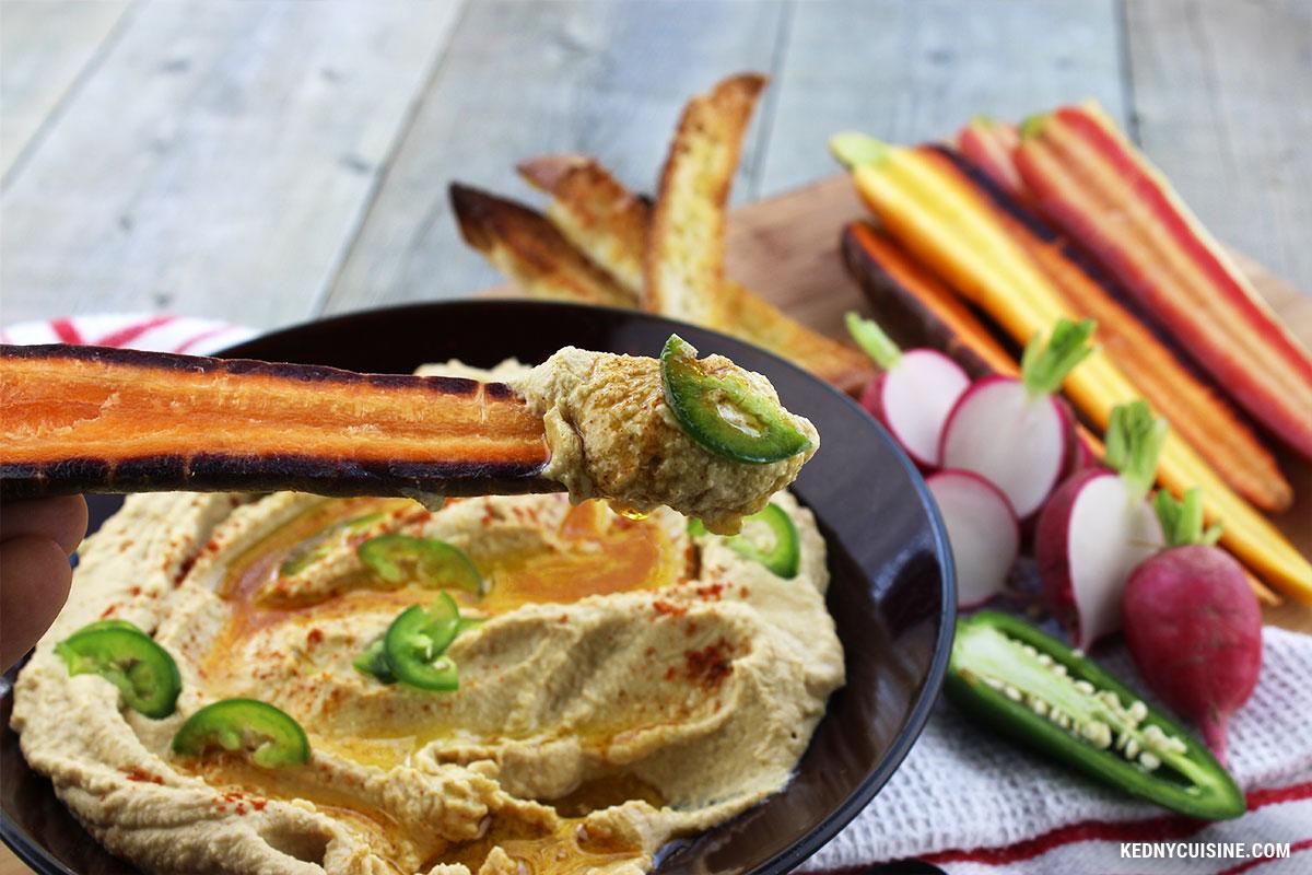 Hummus au hareng fumé - Kedny Cuisine 5