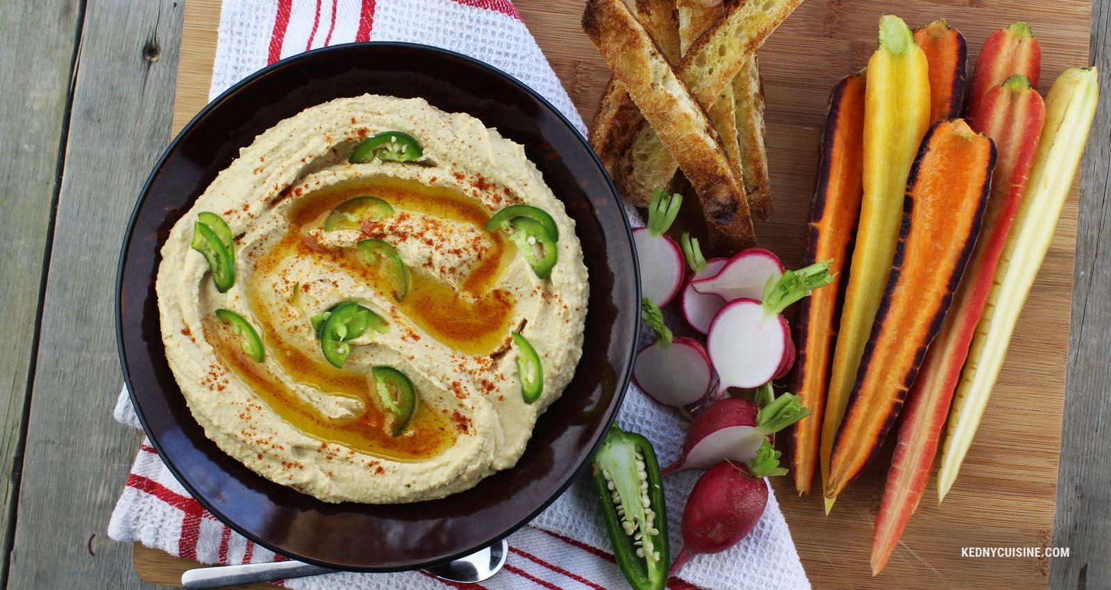 Hummus au hareng fumé