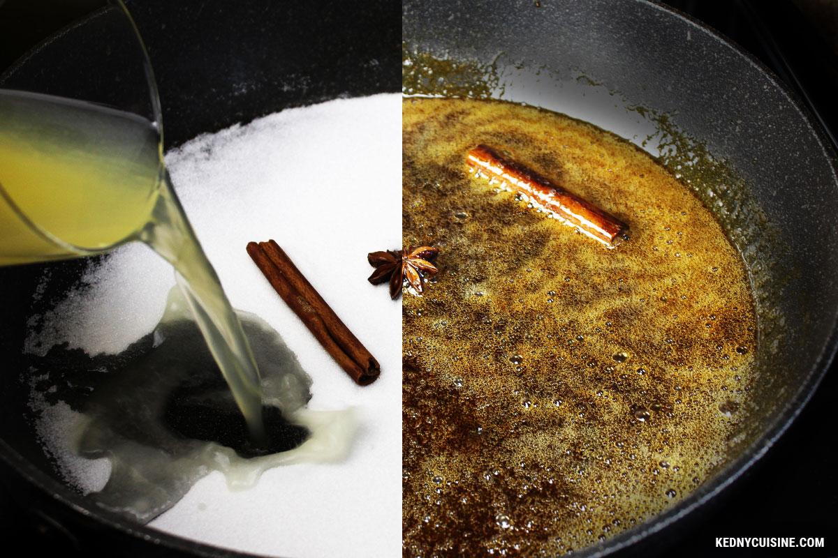 Gâteau renversé aux ananas - Kedny Cuisine - 1