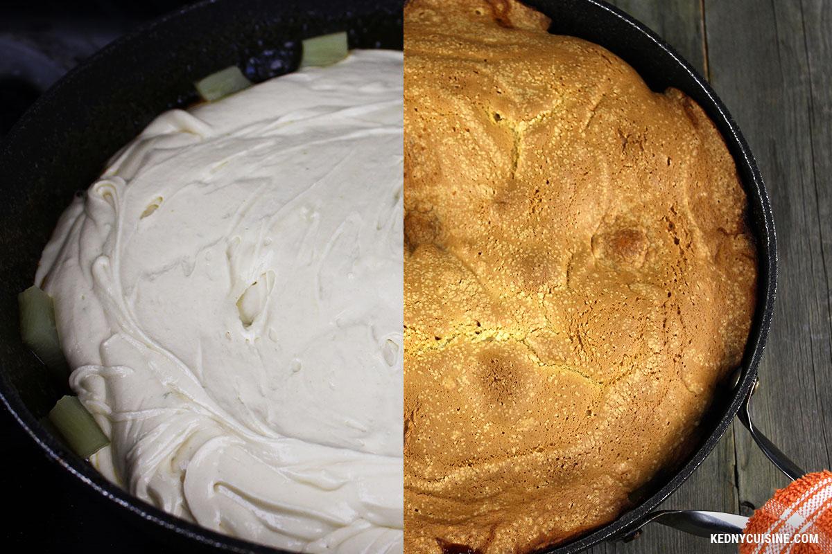 Gâteau renversé aux ananas - Kedny Cuisine - 2b