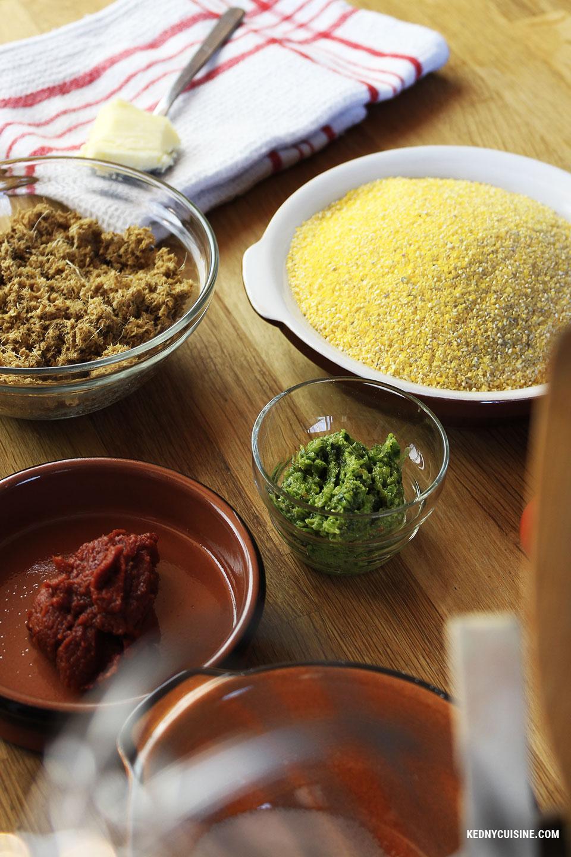 Maïs moulu au hareng saur - Kedny Cuisine - 1