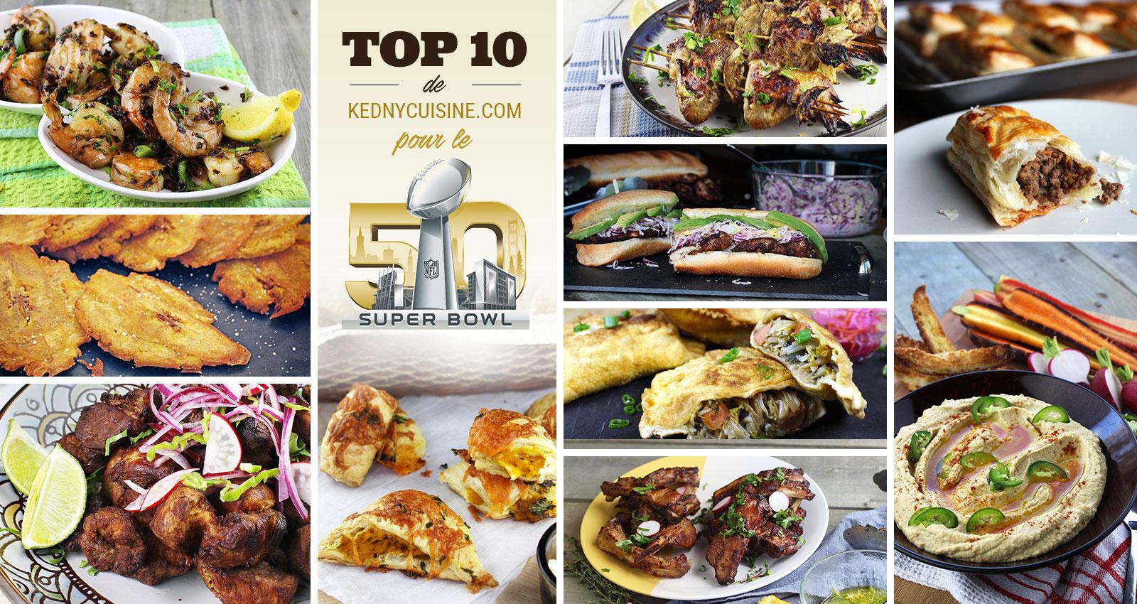 Super Bowl 50 - Kedny Cuisine