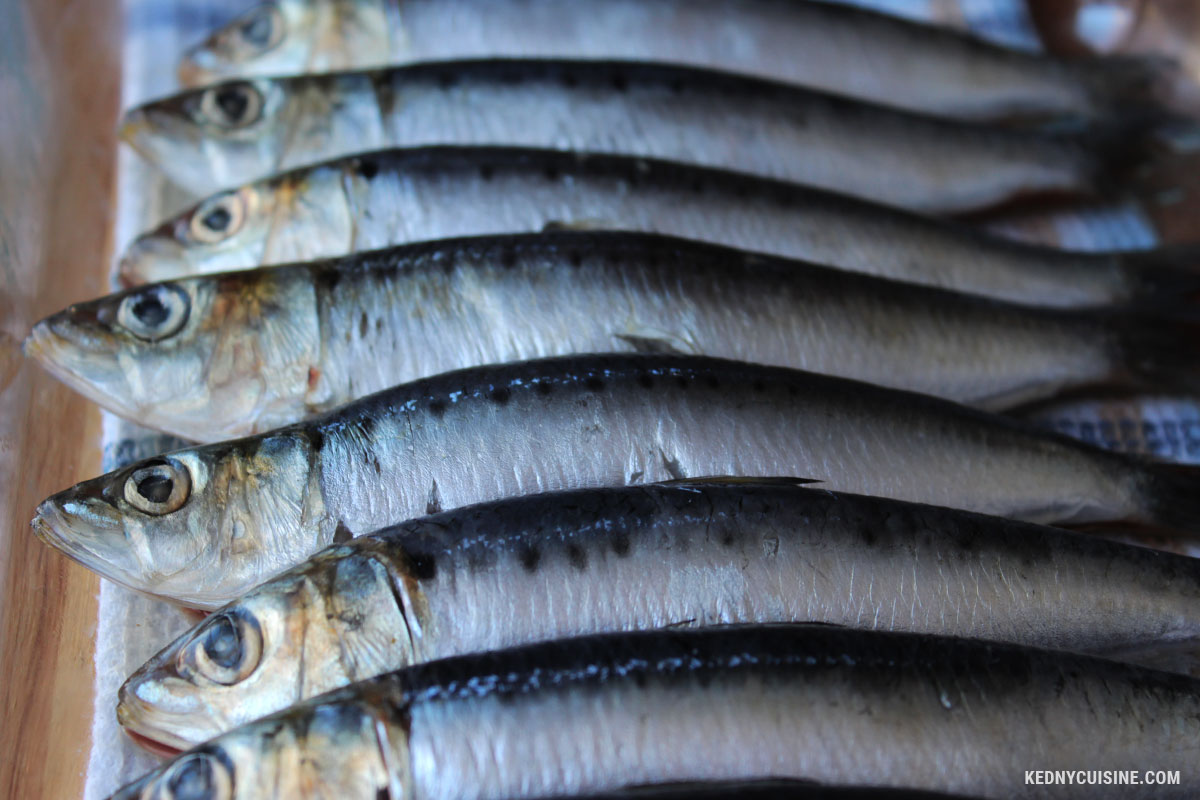 Sardines au four - 1