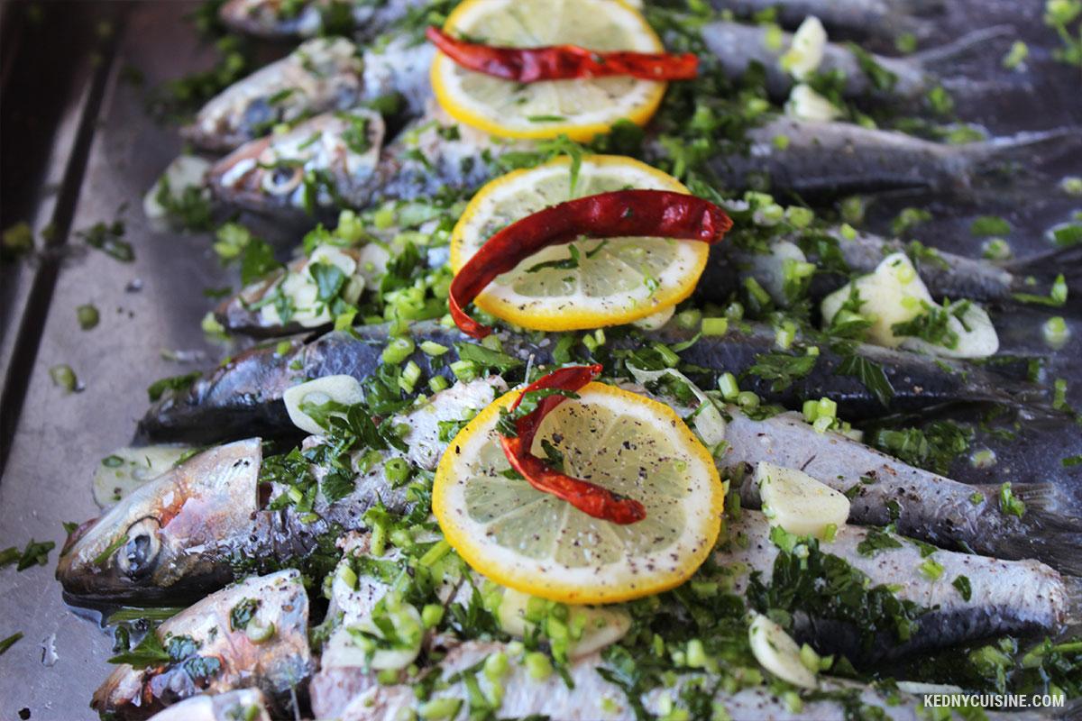 Sardines au four - 2