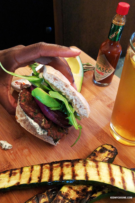 Burger d'agneau à la Gigi - Kedny Cuisine 5