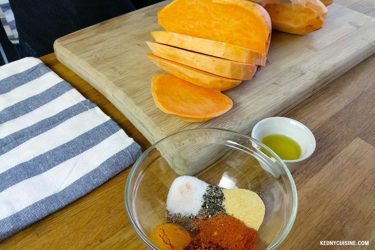 Frites de patates douces exotiques - KC 1