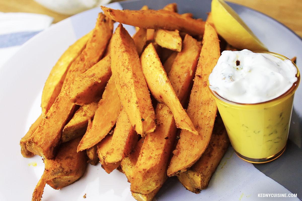 Frites de patates douces exotiques - KC 4