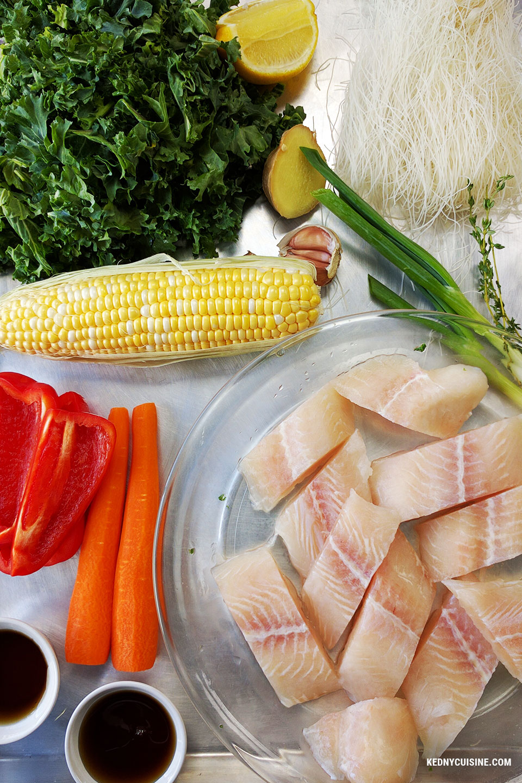 Soupe de poisson asiatique - Kedny Cuisine 1