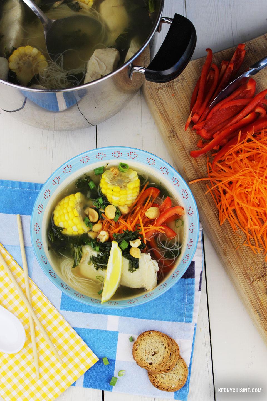 Soupe de poisson asiatique - Kedny Cuisine 2