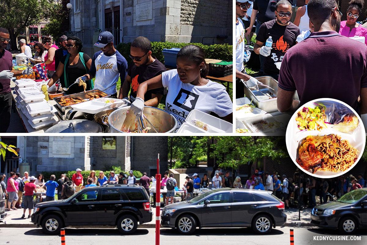 Distribution de repas avec SOS Itinérants 6