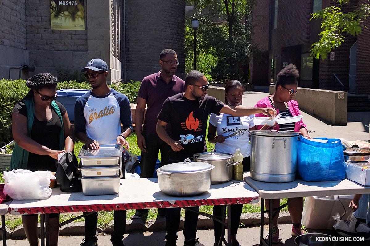 Distribution de repas avec SOS Itinérants 7