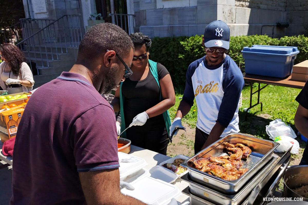 Distribution de repas avec SOS Itinérance 8a