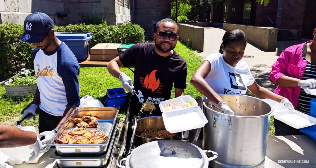 Distribution de repas avec SOS Itinérance