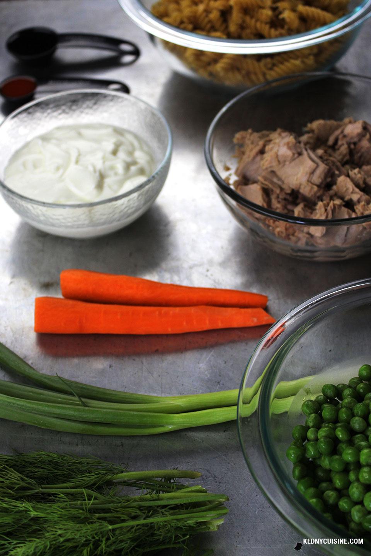 Salade de pâtes au thon 1