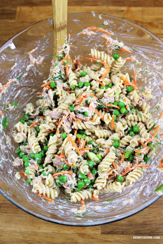 Salade de pâtes au thon 2