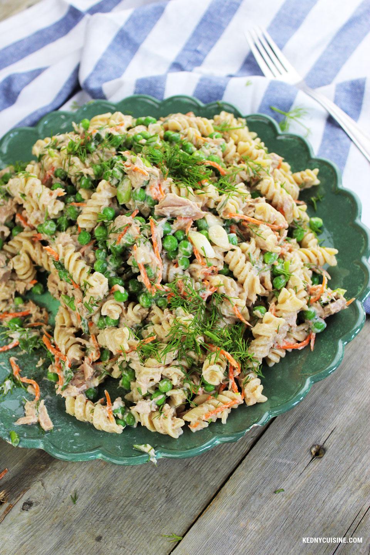 Salade de pâtes au thon 3