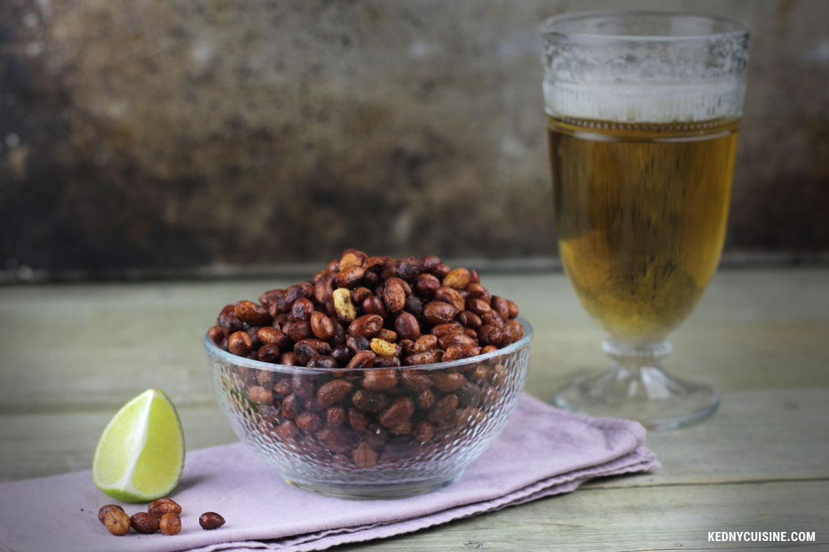 Arachides grillées épicées et à la lime - Kedny Cuisine 4