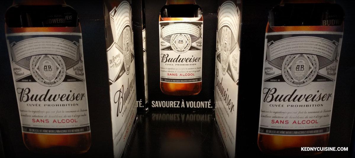 Top 5 des bières sans alcool - Budweiser - Kedny Cusine