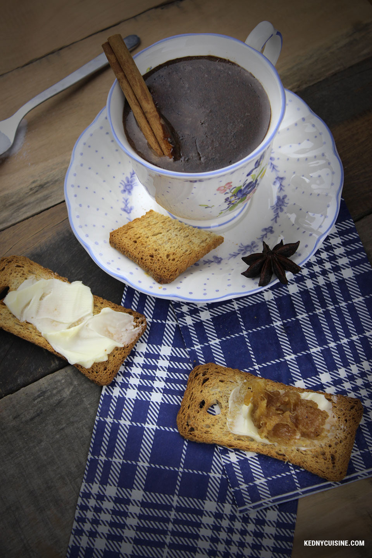 Chocolat chaud haïtien - Kedny Cuisine 2
