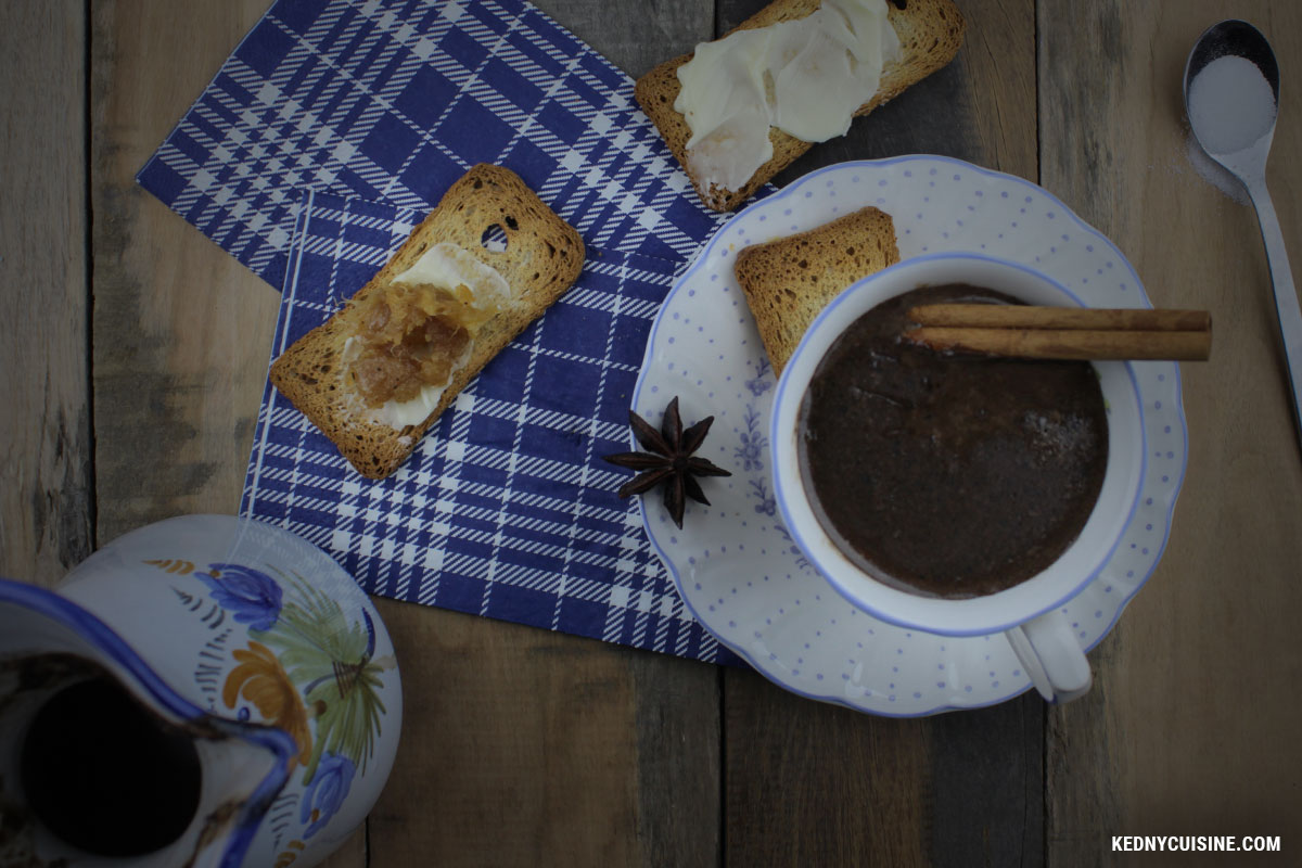 Chocolat chaud haïtien - Kedny Cuisine 3