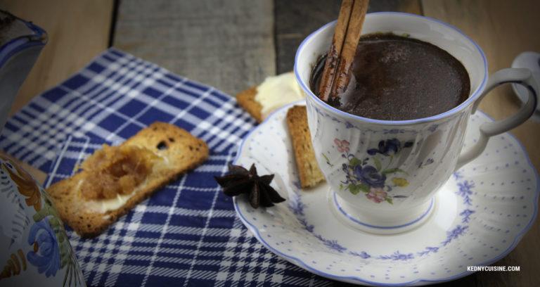 Chocolat chaud haïtien - Kedny Cuisine
