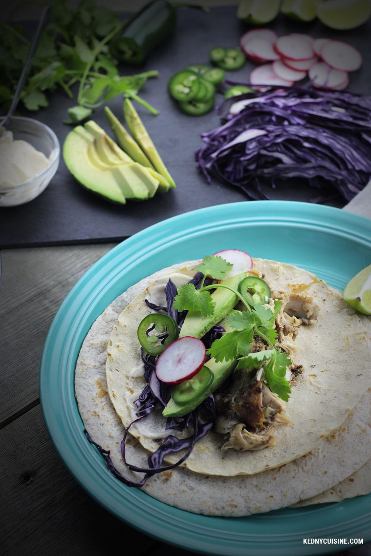 Taco au poulet jerk - Kedny Cuisine 2