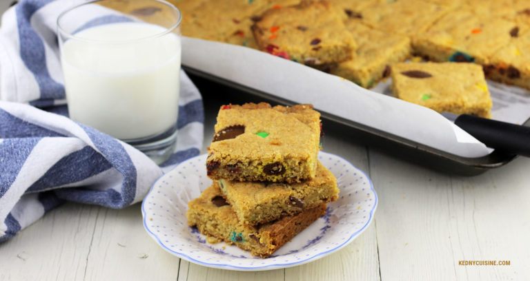 Biscuit géant choco-friandises - Kedny Cuisine