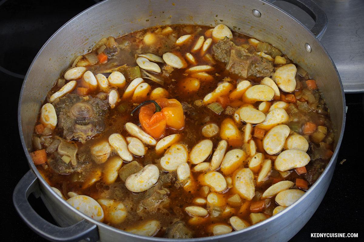 """Ragoût de queue de bœuf """"oxtail"""" à la bière - Kedny Cuisine 3"""