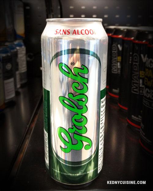 Top 5 des bières sans alcool - Grolsch - Kedny Cusine 2
